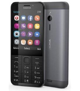 Nokia 230 DS Biały - Srebrny