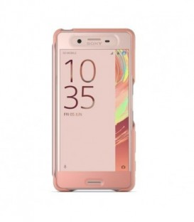 SCR56 Style Cover Touch Etui Sony do Xperia X Performance Rose Gold