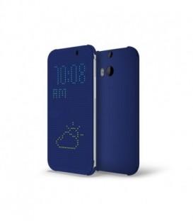 Etui HTC Desire 620 Dot Flip Case Niebieski HC M140