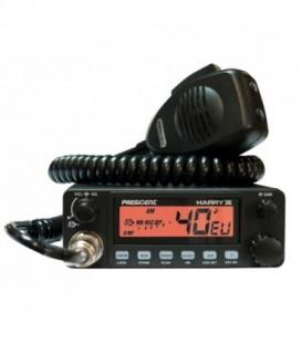 """RADIO CB """"PRESIDENT"""" HARRY III ASC  12/24 V"""