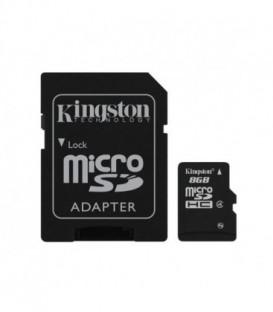 KINGSTON Karta Pamięci microSDHC 8GB SDC4/8GB 1adp
