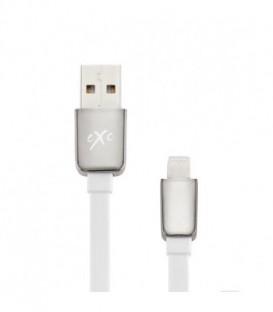 Kabel USB-iPH5/6 eXc LINES,2m,biały