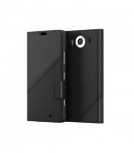 MOZO Thin Flip Cover Lumia 950 Black Golf