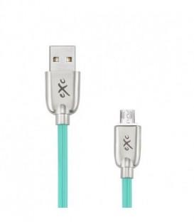 Kabel  micro USB eXc Blade, 1,5m, zielony