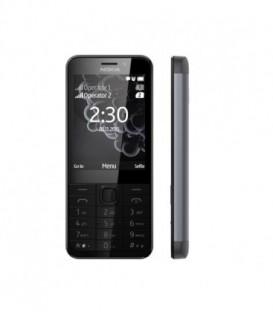 Nokia 230 DS Czarny - Ciemny Srebrny