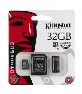 Kingston 32GB CL10 Multi Kit Karta,adapter czytnik