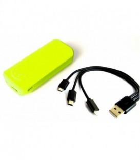SUNEN PowerBank E5600G 5600mAh, 2.1A Yellow