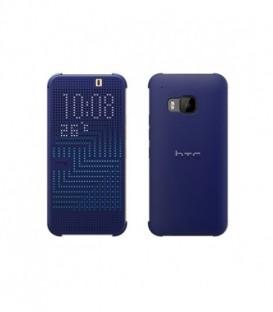 Etui HTC One M9 Dot Flip case Niebieski HC M231