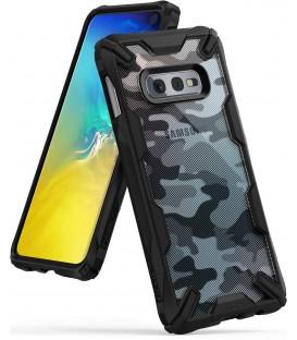 Etui Ringke Fusion-X Design Samsung Galaxy S10e Camo (Moro) Black