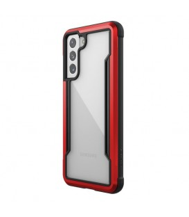 Etui aluminiowe X-Doria Raptic Shield Samsung Galaxy S21 (Antimicrobial protection) (Red)